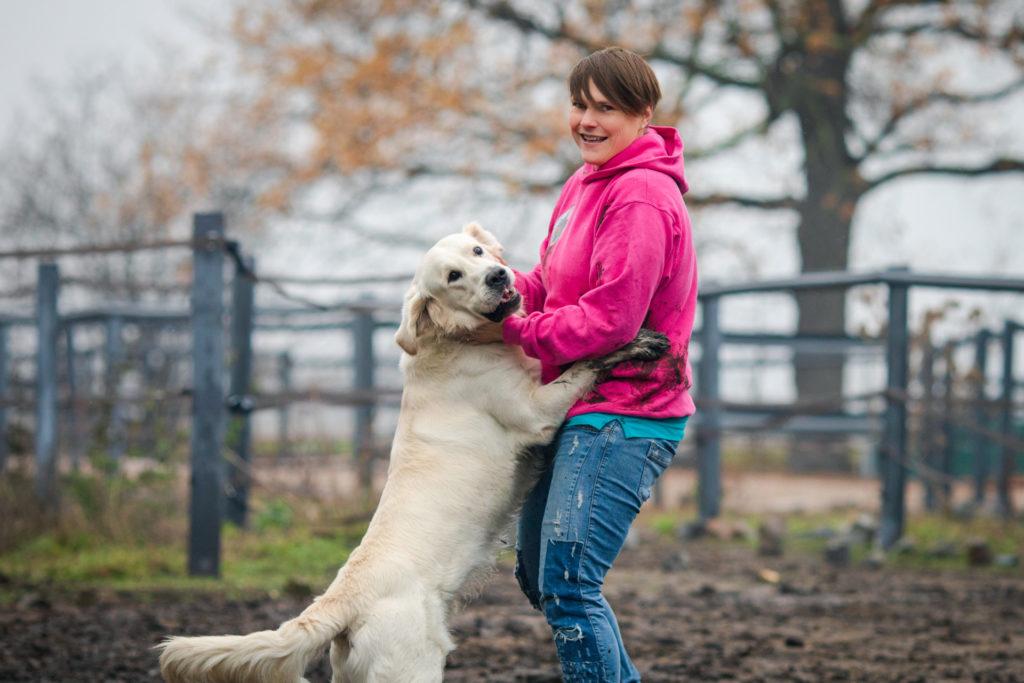 Hundeglück Spaß mit Hund